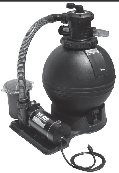 Waterway Clear Water 22 Sand Filter System With 1 5hp