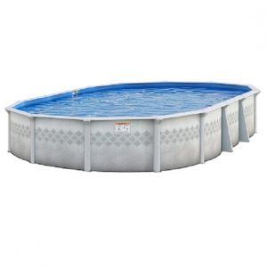 Easton oval above ground pool